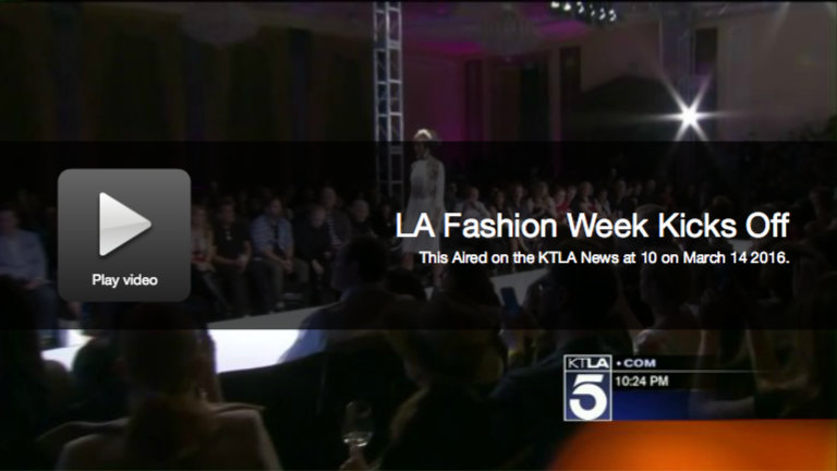 KTLA: Art Hearts Fashion Sponsored by the AIDS Healthcare Foundation