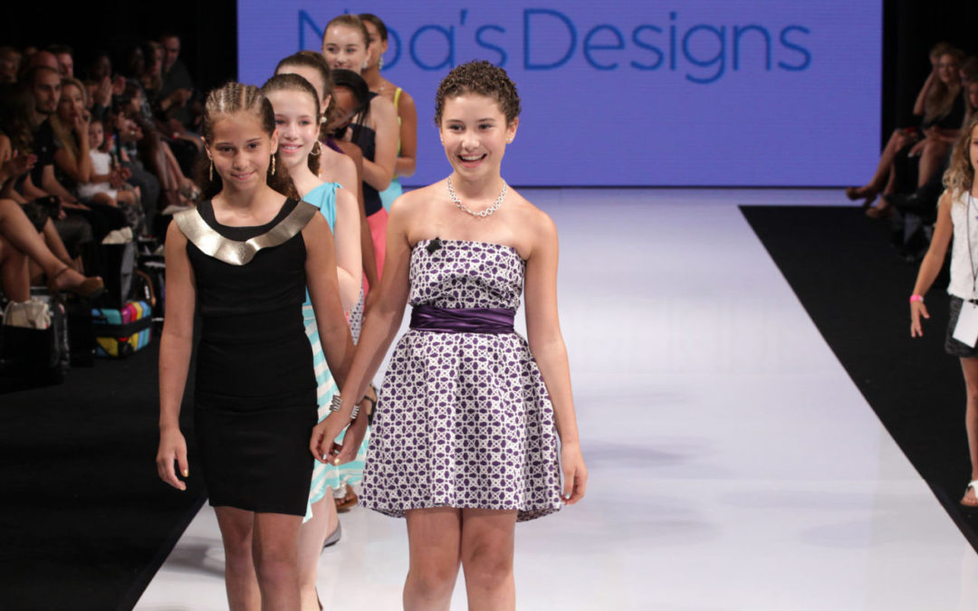 GLAMOUR: 11-Year-Old Designer Noa Sorrell Makes Runway Debut. See All the Looks Here
